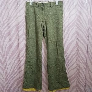 The Limited Olive Green Whool Dress Pants sz 4